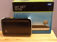 WD My Net N750 HD Dual Band Router for Multi-HD Streams with Fastrack