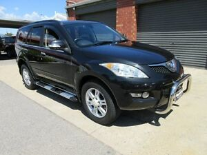 2012 Great Wall X200 CC6461KY MY11 (4x4) Black 5 Speed Automatic Wagon Holden Hill Tea Tree Gully Area Preview