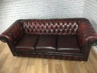 Oxblood Chesterfield Sofa Price Only 650 Normal Rrp