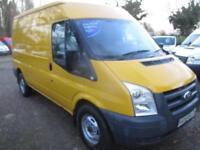 2010 Ford Transit 2.2TDCi MED ROOF NO VAT T330 MWB 100000 MILES GUARANTEED