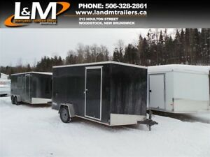 NEW 2019 CARGO EXPRESS 7X12' SINGLE AXLE ENCLOSED TRAILER