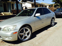 2001 LEXUS IS300 •Rims•Tint•Starter•DVD-Subs-Winter Tires•
