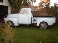 1947 to1954 Chevy truck parts only