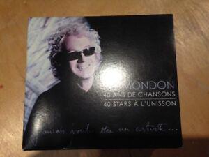 Coffret de 4 CD de la musique de Luc Plamondon