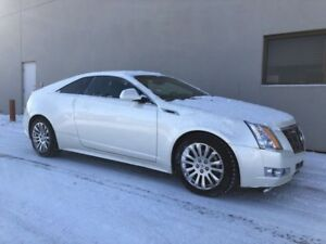 2011 Cadillac CTS Coupe Premium-AWD, DUAL EXHAUST & CHROME RIMS