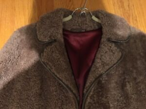 Real Sheep Skin Fur Coat - Women - England