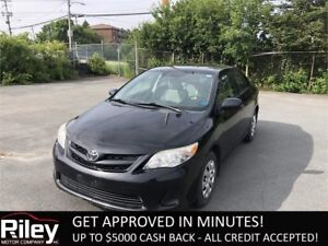 2011 Toyota Corolla CE STARTING AT $129.02 BI-WEEKLY