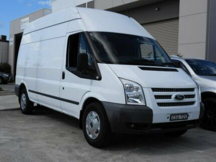 2013 Ford Transit 350 350 White Manual Van
