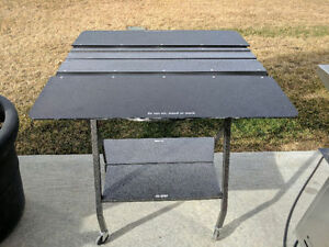 Mobile Clothing Fold Table