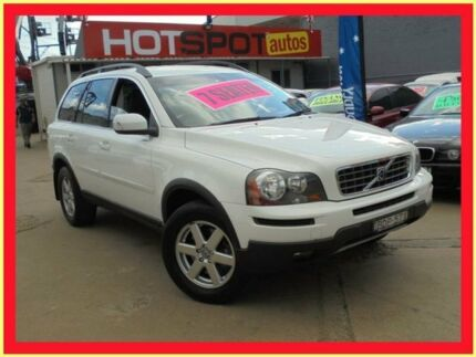 2007 Volvo XC90 MY07 3.2 White 6 Speed Automatic Geartronic Wagon Holroyd Parramatta Area Preview