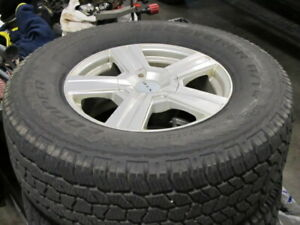 Winter Tires on RTX Winter Alloy Wheels ( Dodge Ram )