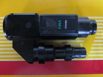 Mitutoyo Vmu-v Video Microscope Unit W Vertical Illuminator C-mnt