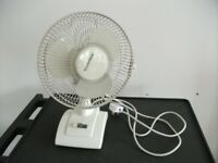 Table Fan . 9 inches