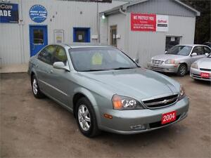 2004 Chevrolet Epica LS| ONLY 23 KM| NO RUST|ONE OWNER| MUST SEE