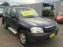 2002 Mazda Tribute Limited Traveller Blue 4 Speed Automatic 4x4 Wagon Lansvale Liverpool Area Preview