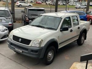 2006 Holden Rodeo RA MY06 LX White Automatic Utility