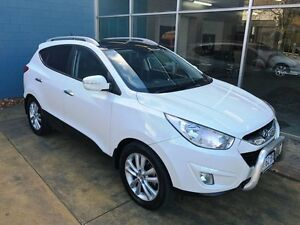 2011 Hyundai ix35 LM MY11 Highlander (AWD) White 6 Speed Automatic Wagon Hobart CBD Hobart City Preview