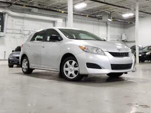 2010 Toyota Matrix*AUTOMATIQUE*4 CYLINDRE*VITRE ELECTRIQUE*A/C*