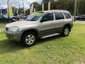 2002 Mazda Tribute Classic Traveller Gold 4 Speed Automatic 4x4 Wagon Clontarf Redcliffe Area Preview