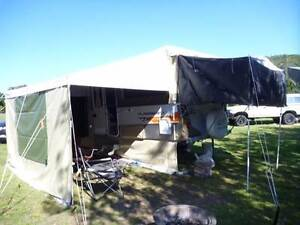 Jayco bag awning, annex and draft skirt to suit a Jayco Flamingo. Mackay Mackay City Preview