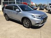 2016 Mitsubishi Outlander ZK MY16 LS 4WD Silver 6 Speed Constant Variable Wagon Hoppers Crossing Wyndham Area Preview