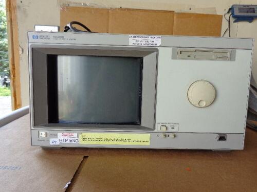 HEWLETT PACKARD 16500B LOGIC ANALYSIS SYSTEM