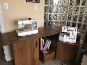 Complete sewing center for sale