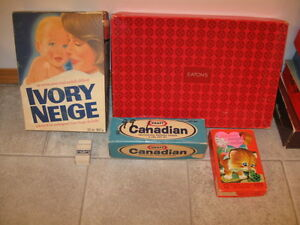 OLD CARDBOARD BOXES -OFFERS