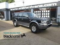 2005 Ford Ranger XLT 2.5TDi 4x4 Double Cab No VAT A/C E/Pack Diesel black Manual