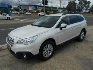2016 Subaru Outback B6A MY16 2.0D CVT AWD White 7 Speed Constant Variable Wagon Fyshwick South Canberra Preview