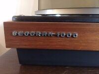 Vintage Bang & Olufsen Beogram 1000 Record Player