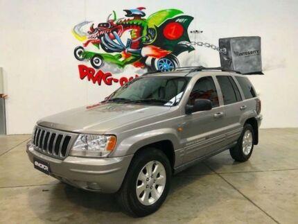 2001 Jeep Grand Cherokee WJ Grey Automatic Wagon