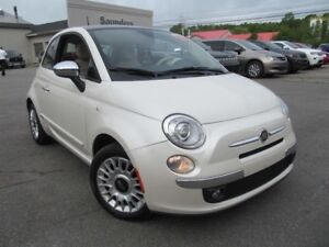 2012 Fiat 500 Lounge - Sunroof / Leather