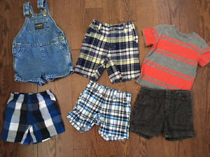 12 month summer shorts boys