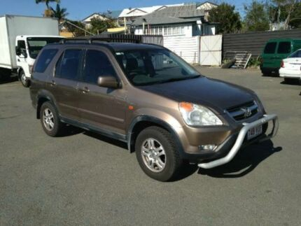 2002 Honda CR-V RD MY2002 Sport 4WD Gold 4 SPEED Automatic Wagon Greenslopes Brisbane South West Preview