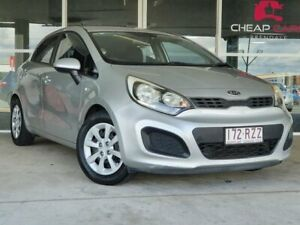 2011 Kia Rio UB MY12 S Silver 6 Speed Manual Hatchback Brendale Pine Rivers Area Preview