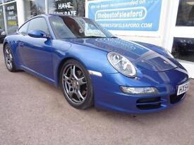 Porsche 911 997 3.6 auto 2004 Carrera 2 Tiptronic S £8330 added extras inc Nav