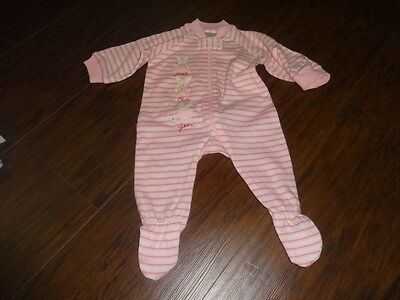 NWOT NEW CARTERS PREEMIE PINK STRIPED OUTFIT