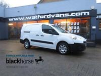 2014 Peugeot Partner 716 S 1.6HDi 90ps Crew Cab E/Pack Twin Side Doors Diesel wh