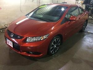 2013 Honda Civic Cpe Si, Manual Trans, 2.0L L4 engine
