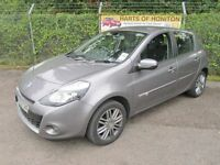 Renault Clio 1.5 Dynamique Tom Tom DCi 88 Turbo Diesel 5DR (oyster grey) 2012