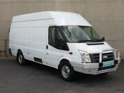 2008 Ford Transit VM MY08 High (LWB) White 6 Speed Manual Van Condell Park Bankstown Area Preview