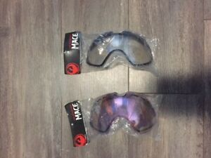 Replacement lenses for Dargon Mace Goggles