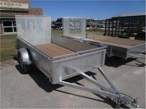 Used Galvanised 5x10 High Side Trailer