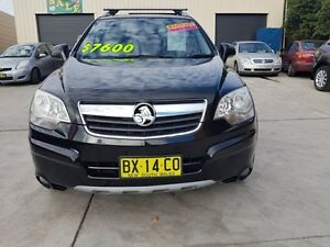 2007 Holden Captiva Maxx Black Automatic SUV Granville Parramatta Area Preview