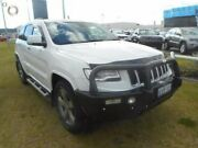 2014 Jeep Grand Cherokee WK MY2014 Overland White 8 Speed Sports Automatic Wagon Rockingham Rockingham Area Preview