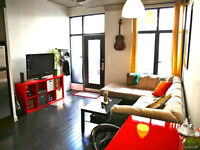 NEW PRICE- SPACIOUS LOFT WITH PRIVATE TERRACE + GARAGE