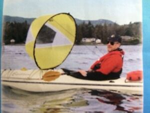WindPaddle sail for kayaks, canoes, sit-on-tops, inflatables
