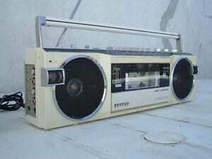 Vintage Sanyo boom box RC-M7770K