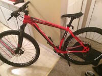 "2014 Specialized Rockhopper 29"" Red Large Frame"